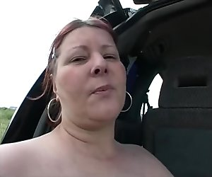 Big bbw masturbating solo