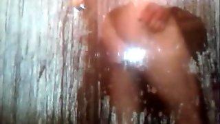 syssy boy taking a shower