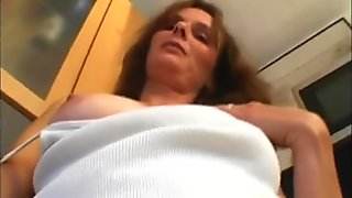 Cougar Has A Big-Cock For Breakfast