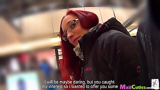 MallCuties redhead is fucking for clothes