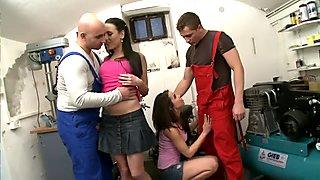 Blow Me Babes - Scene 1 - DDF Productions