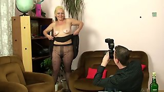 Old mother in law taboo photosession