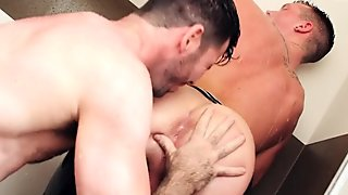 ShowerBait - College Stud Seduced In The Shower
