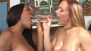 Oiled Up Lesbian Sluts