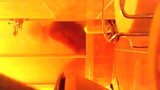 spying mum Carol masturbating and cumming in shower
