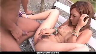 Aika amazes with sensual outdoor sex scenes