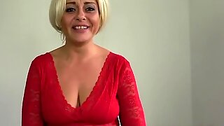 PASCALSSUBSLUTS - MILF Kelly Cummings fed cum after pounding