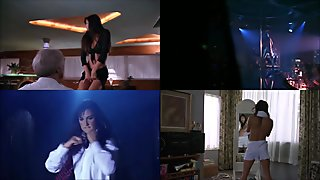 Demi Moore Striptease Scenes Split Screen Compilation