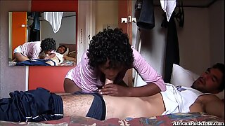 Amateur African Girl Fucked And Covered In Cum!