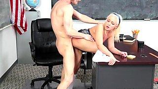 Cleo Vixen getting fucked by her teacher