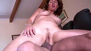 Amateur mature cuckold threesome