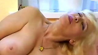 Russian Blonde Hairy Nina solo-1