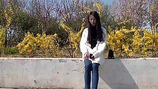 Kinesisk femdom-fotfetish