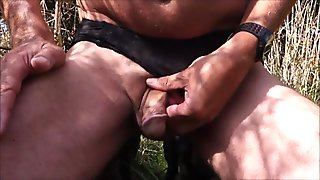 Cumming outside