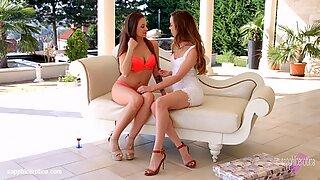 Check My Dress By Sapphic Erotica - Lesbian Love Porn With Capri Anderson - Angelina Brill