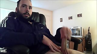 Str8 men watching porn & jerk lll