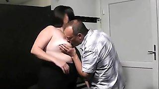 BBW rides his dick