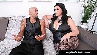 Tjock kubansk Angelina Castro & king noire fan milf Angelina Castro!