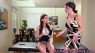 Pretty massaged lesbian tasted