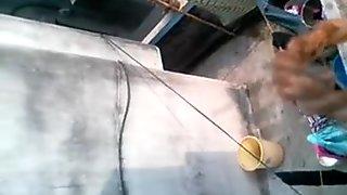 Bengali mumsy bath