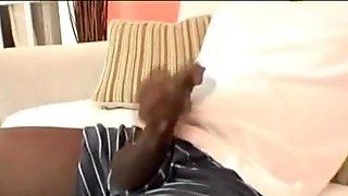Malvin Black Jacks Off His Cock