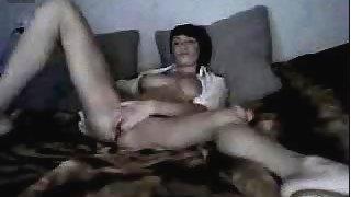Russian horny Olga having fun on pt 2