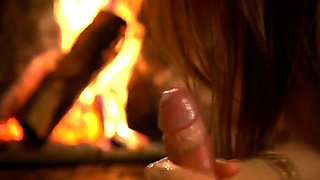 A Relaxing And Arousing Handjob With A Cum