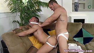 Landon Conrad pounding Jr Bronson