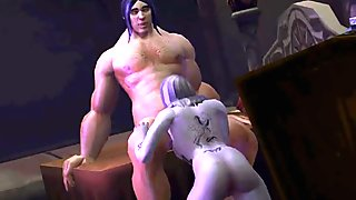 WoW 3D hentai super compilation (Word of Warcraft)