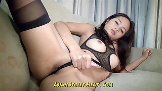 Eye blinking Thai anal invasion foolish