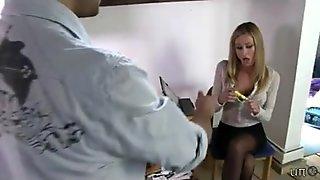 UNP009-Sarah Jain Boss New Intern- Free video