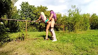 Cute blonde teen Nesty fucked for cash