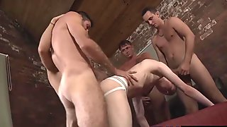 Horny twinks enjoy in hardcore action