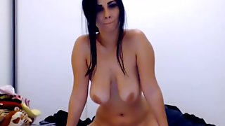 big tits beauty riding her dildo Pt2